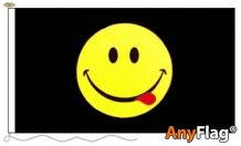 SMILEY FACE ACID  ANYFLAG RANGE - VARIOUS SIZES